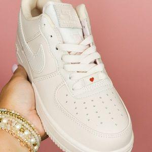 Blush Pink Nike AF1's 🦋